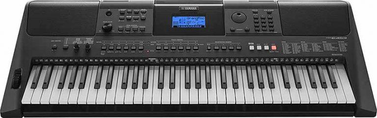 Yamaha PSR E453 frontal
