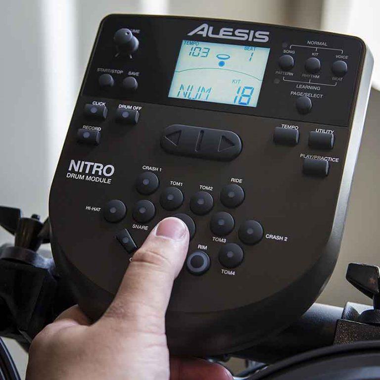 Usando el módulo de la Alesis Nitro Kit