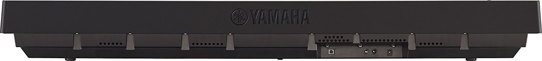 Parte trasera del piano digital Yamaha P-45b