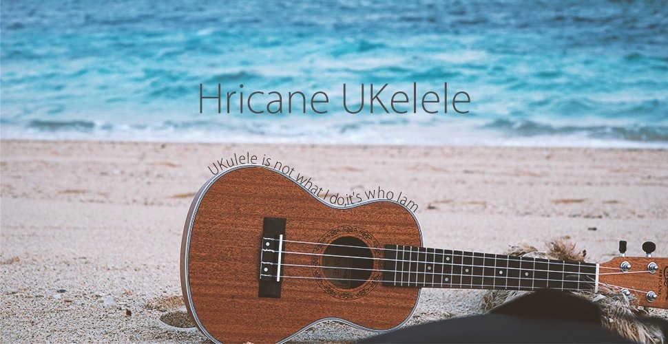 Ukelele hawaiano Hricane