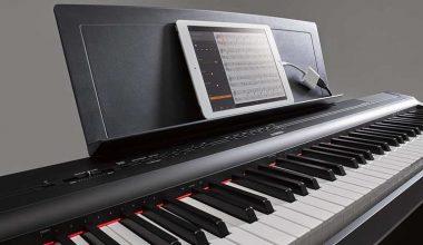 Yamaha P-125B, uno de los mejores pianos digitales para el 2019