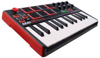 Controlador MIDI Akai MPK MINI MK2