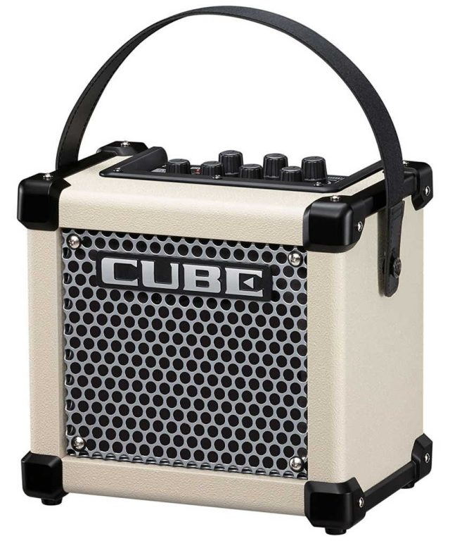 Roland Micro Cube GX color blanco