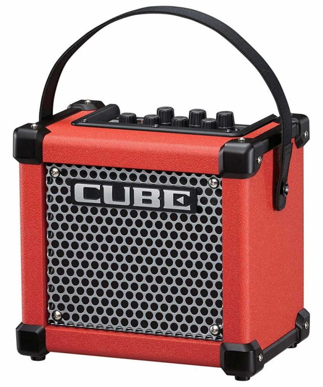 Roland Micro Cube GX color rojo