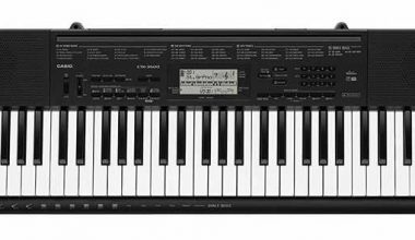 Casio CTK-3500, mejor teclado de iniciación para el 2019