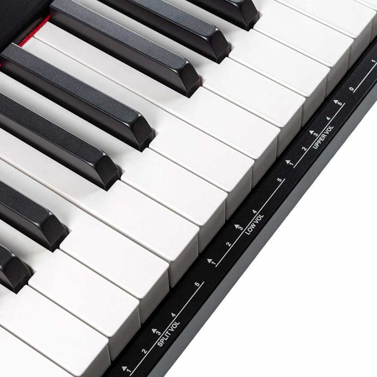 Teclas del piano digital RockJam RJ88DP