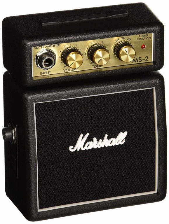 Amplificador de guitarra Marshall Mini 2W