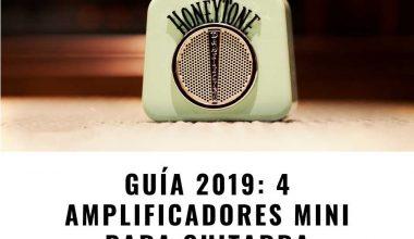 Guía 2020: los 4 amplificadores portátiles para guitarra mejor valorados